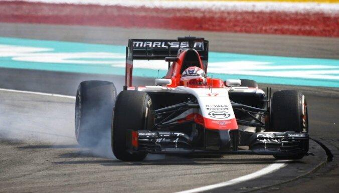 'Marussia' komanda iekļauta nākamās sezonas F-1 dalībnieku vidū