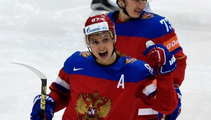 Par otro Lasvegasas 'Golden Knights' spēlētāju kļūst SKA zvaigzne Šipačovs