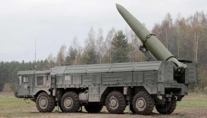 """Министр обороны Литвы: Россия размещает под Калининградом """"Искандеры"""" на постоянной основе"""