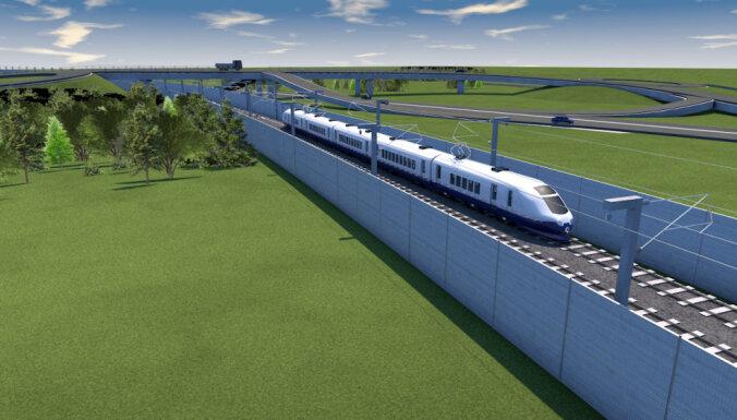 Valdība atbalsta triju Baltijas valstu starpvaldību līguma projektu par 'Rail Baltica'