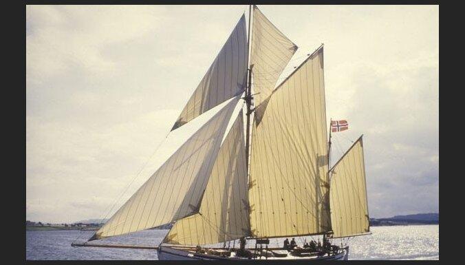 В Балтийском море во время регаты затонул норвежский 100-летний парусник