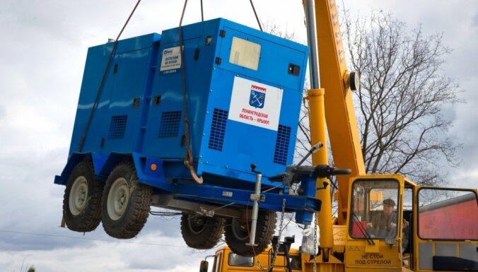 Ukraina atjaunojusi Krimas elektroapgādi