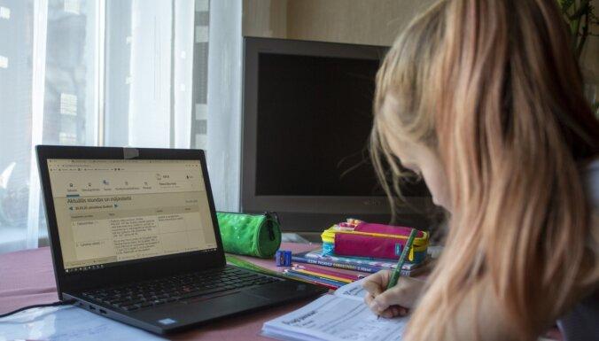 Covid-19: в Кулдиге школа на две недели перешла на удаленное обучение