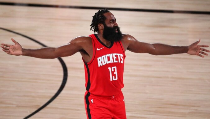 Hārdens aizvien vēlas pamest 'Rockets' komandu