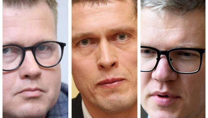 Jurašs, Ķirsis, Pūpols – izskan iespējamie Rīgas mēra amata kandidātu uzvārdi