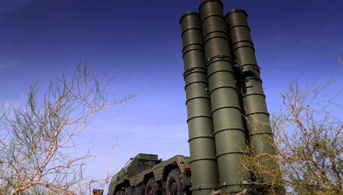 ASV atkārto prasību Turcijai atteikties no Krievijas S-400 raķešu sistēmas