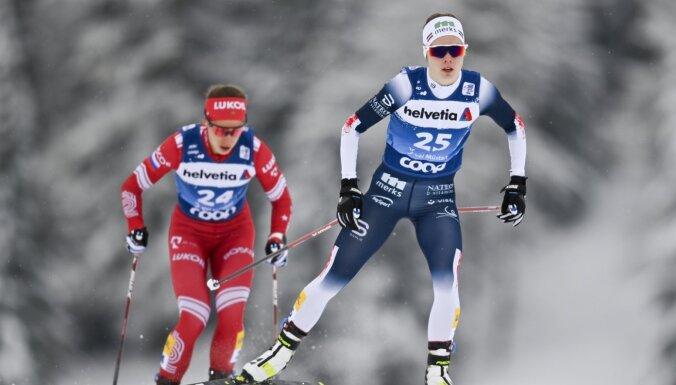 Teicami sākusī Eiduka turpinās 'Tour de Ski', Vīgants devies mājup