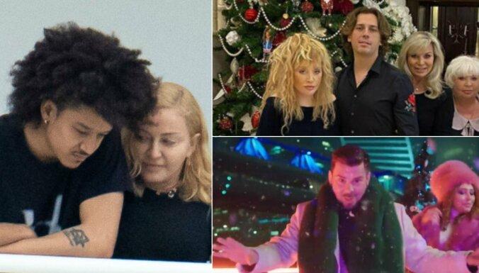 Nedēļas trakumi: Madonnas jauniņais mīļākais, starojošā Pugačova, Busulis Krievijas TV šovā