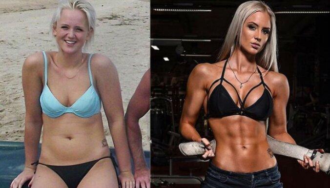 Piemērs, kas iedvesmo: kā Paula kļuva par fitnesa skaistuli
