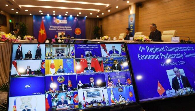 Китай и страны Азии заключили крупнейшее в мире соглашение о свободной торговле