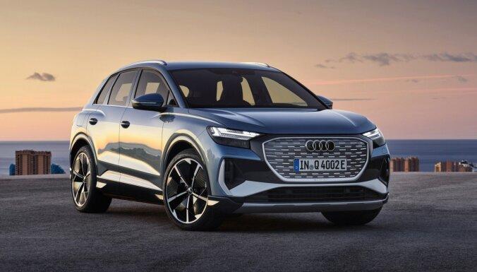 'Audi' prezentējis kompakto elektrisko apvidnieku 'Q4 e-tron'
