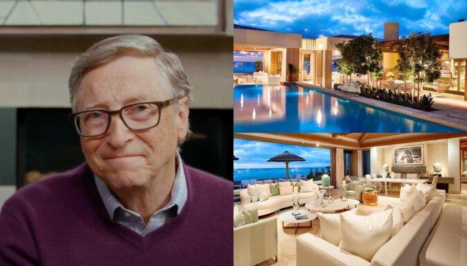 Foto: Bils Geitss par 43 miljoniem nopērk pasakainu īpašumu okeāna krastā