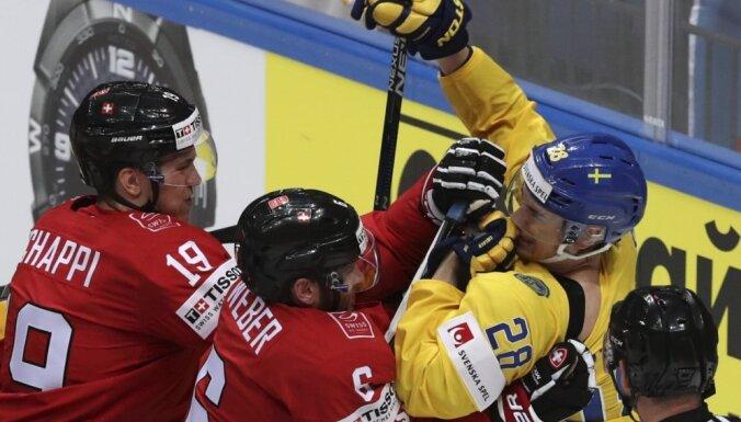 Швейцарцы взяли со шведами очко и сохраняют шансы на четвертьфинал
