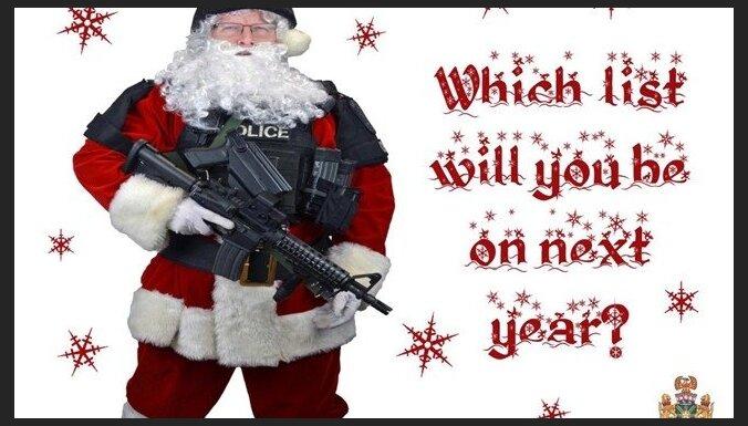 Канадская полиция разослала преступникам рождественские открытки