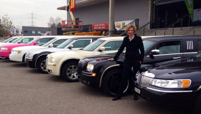 Экс-рижанка: Женщинам все по плечу, даже стать водителем 9-метрового лимузина