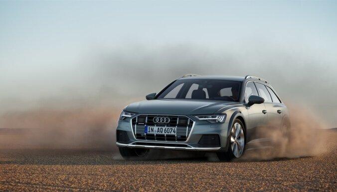 Modeļa divdesmitgadē 'Audi' iepazīstina ar jauno 'A6 allroad quattro'