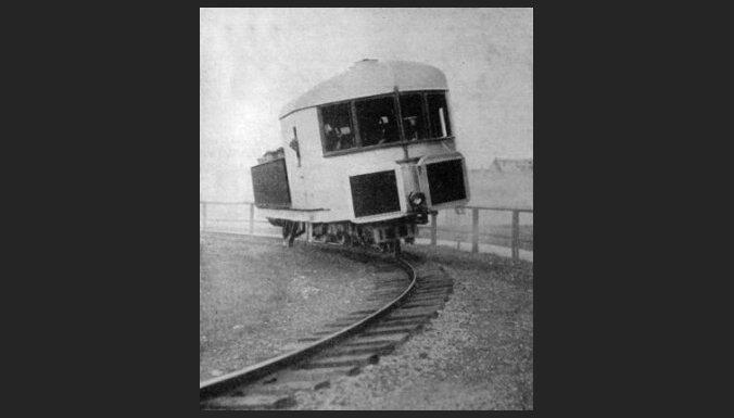 Пропеллеры, гироскопы, магниты: 8 самых безумных в истории поездов