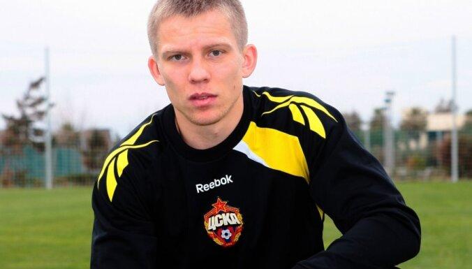 Цауня признан лучшим футболистом Латвии второй год подряд
