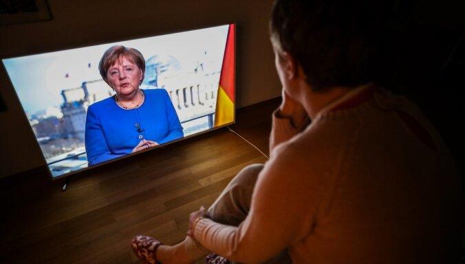 'Covid-19' Vācijai ir lielākais izaicinājums kopš Otrā pasaules kara, atzīst Merkele