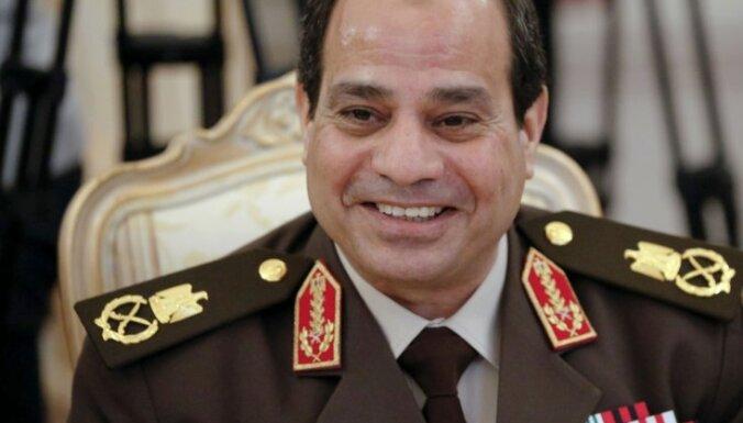 Sisi Ēģiptes prezidenta vēlēšanās ieguvis 96,9% balsu