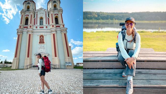 1000 километров пешком: Агнесе Скунстиня прошла от Валки до Польши и планирует идти еще дальше