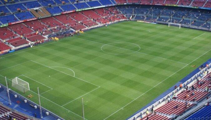 Katalonijas protestu dēļ atcelts nākamnedēļ Barselonā paredzētais 'el clasico'