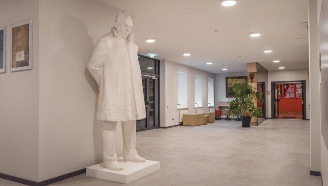 Foto: Modernizētas Liepājas Mūzikas, mākslas un dizaina vidusskolas telpas