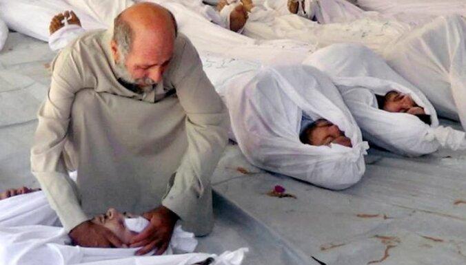 Sīrija noliedz ķīmisko ieroču izmantošanu