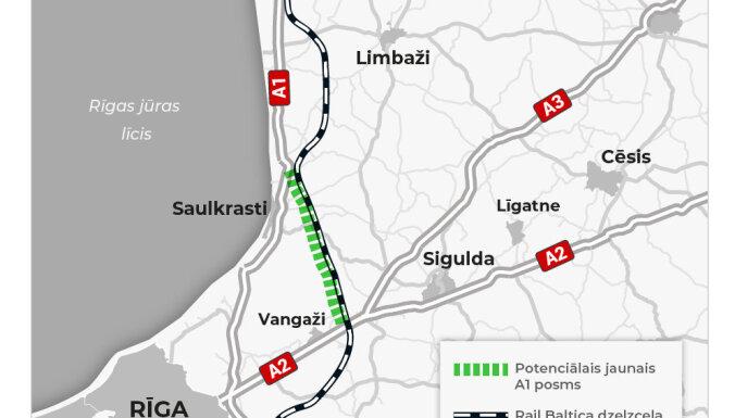 Jauns Tallinas šosejas posms varētu tapt starp Vangažiem un Skulti