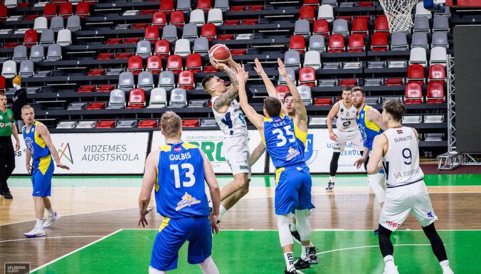 'Ventspils' trešo reizi sezonā apspēlē 'Valmiera Glass/ViA'