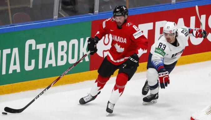 PČ hokejā: Zināms kalendārs B apakšgrupas izlašu aizņemtajiem pusfināliem