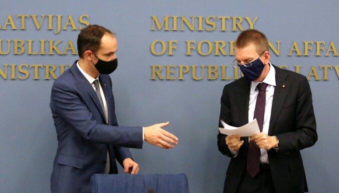Slovēnijas ārlietu ministram konstatēta inficēšanās ar Covid-19; Rinkēvičs nonāk karantīnā