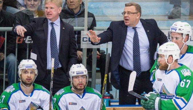 Salavat Yulayev s head coach Igor Zakharkin