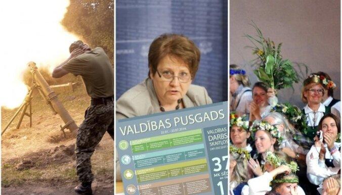 Par vienu brīvdienu vairāk, Ukrainas kara šausmas un Straujumas valdības darbi