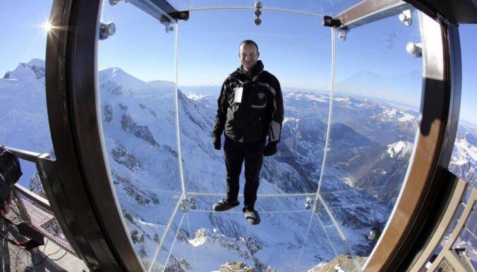 В Альпах открыт самый высокий в Европе аттракцион