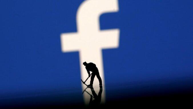 'Facebook' datu noplūde skārusi līdz 2,7 miljoniem cilvēku ES
