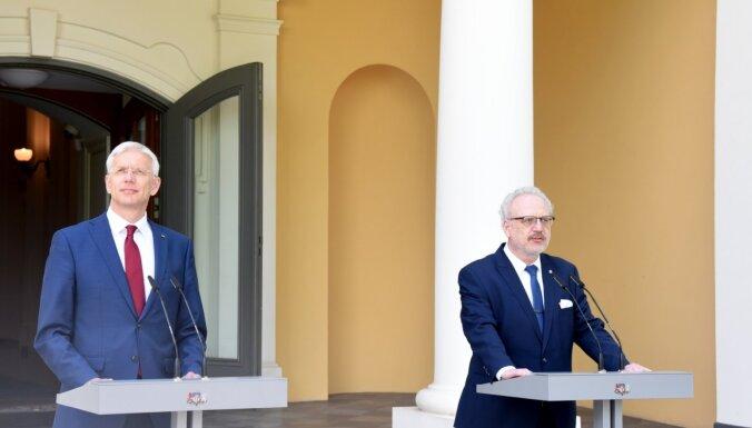 Президент: забор на латвийско-белорусской границе нужно построить как можно скорее