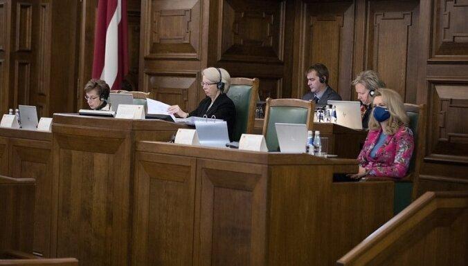 2021. gada budžeta izskatīšana - līdz otrdienas beigām izskatīti 24 no 30 likumprojektiem. Teksta tiešraides arhīvs