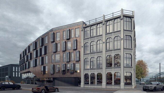 ФОТО: В Риге на улице Мукусалас построят новое офисное здание