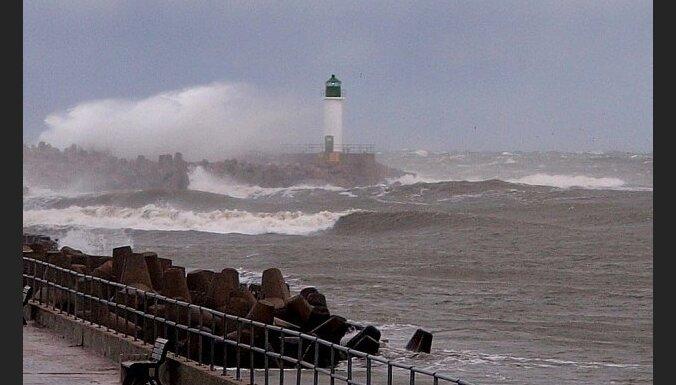 Ураган Joda: ночью ветер усилился до 22 метров в секунду