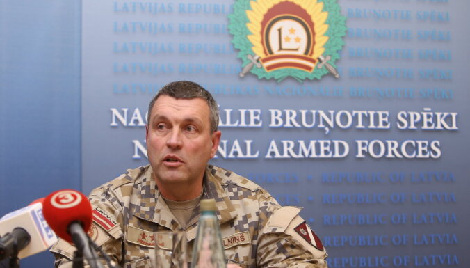 Парламентское большинство готово поддержать избрание Калниньша новым главой армии Латвии