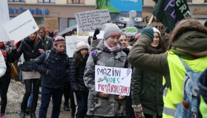Februāra vidējā gaisa temperatūra Latvijā – 4,5 grādi virs normas