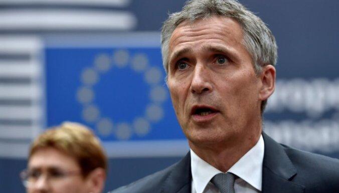 Turcijai ir tiesības uz pašaizsardzību, uzsver Stoltenbergs