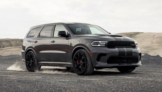 Par pasaulē visjaudīgāko apvidnieku kļuvis 'Dodge Durango SRT Hellcat'