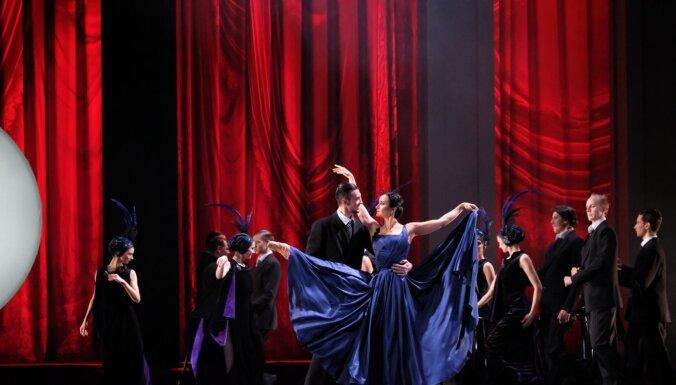 Foto: Remarka 'Trīs draugi' baleta versijā uz LNO skatuves