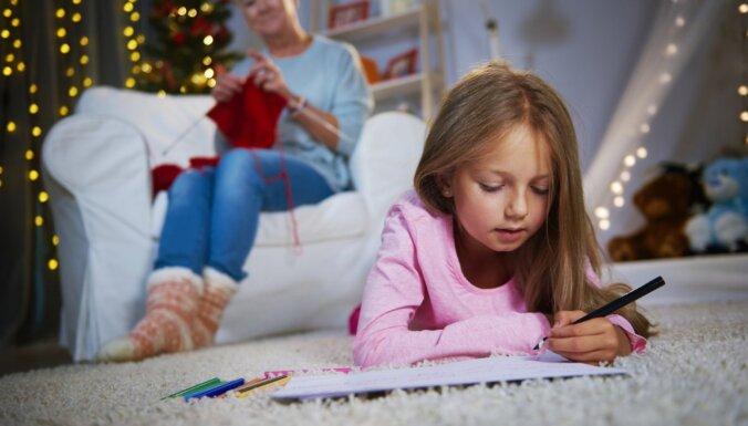 Vēstule Ziemassvētku vecītim: kurp bērniem tā jāsūta