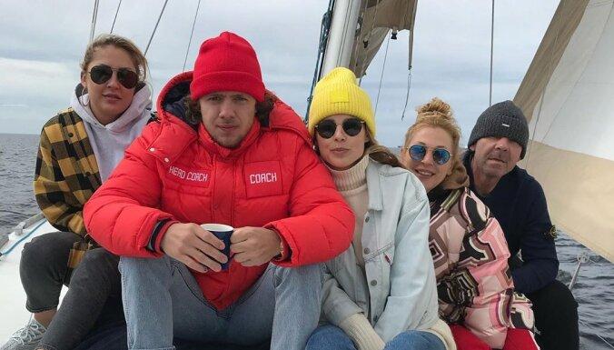 ФОТО: Как Олег Знарок отдохнул с семьей в Риге во время летнего отпуска