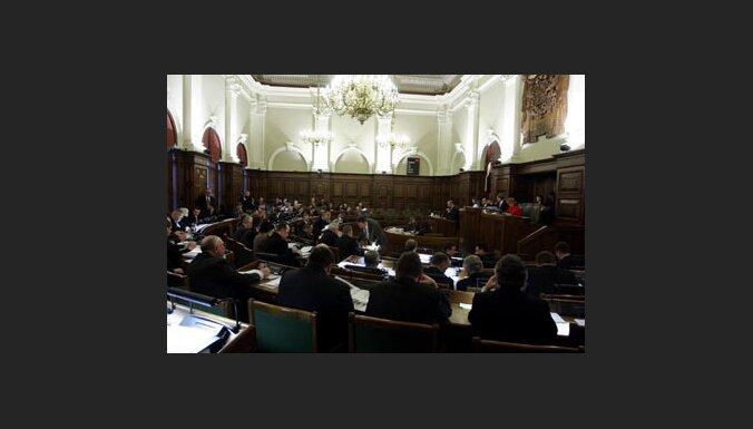 9.Saeima noturējusi 38 sēdes