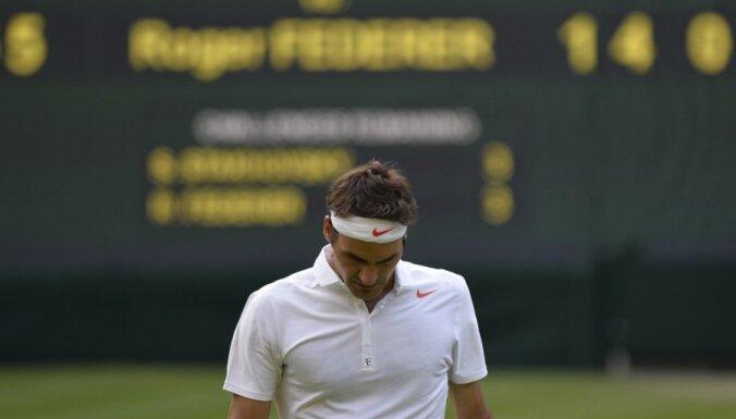 Федерер впервые за 10 лет скатился так низко, Гулбис поднялся