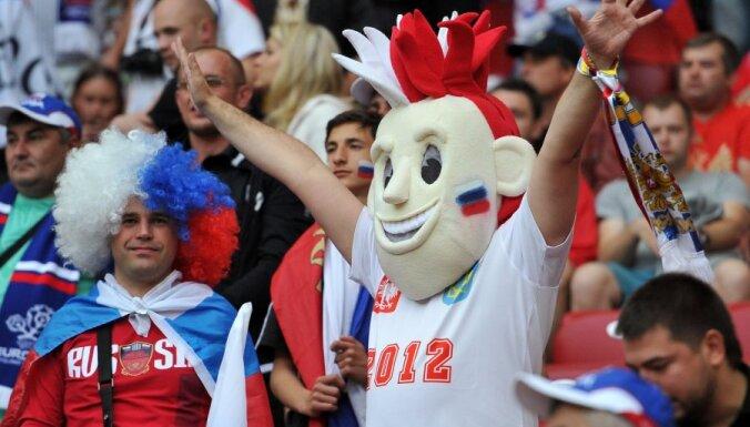 Наказан россиянин, бросивший файер на матче Испания — Хорватия
